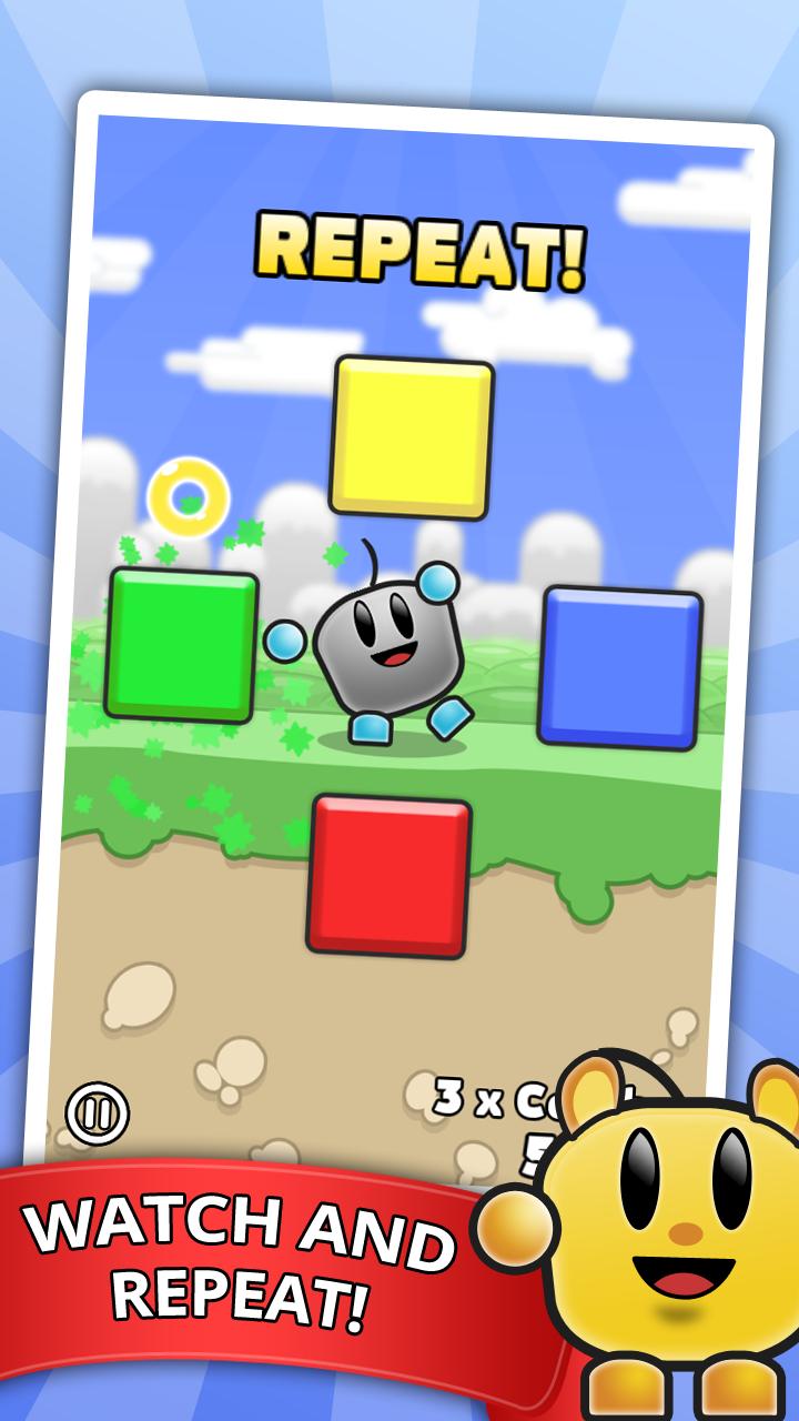 Greylo - Simon Memory Game for iOS & Android